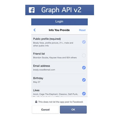 Facebook Graph API v2: What's Changed and What it Means