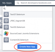 FB App: Create New App