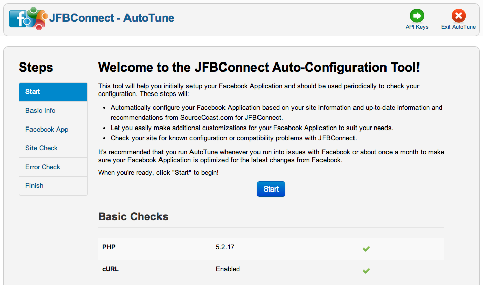 AutoTube JFBConnect - Facebook on your Joomla site