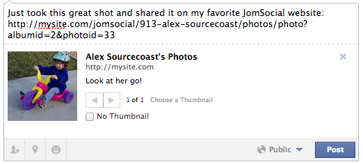 Open Graph Tags for JomSocial